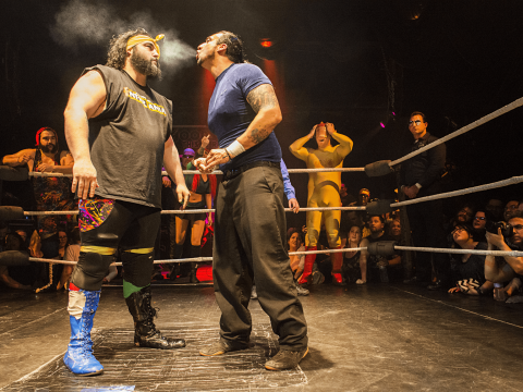 Rick-Scott Stoner and Anthony Riv Butabi at Hoodslam – Loaded