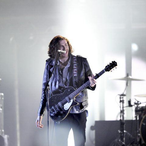 Grammy winner Hozier sang with Annie Lennox