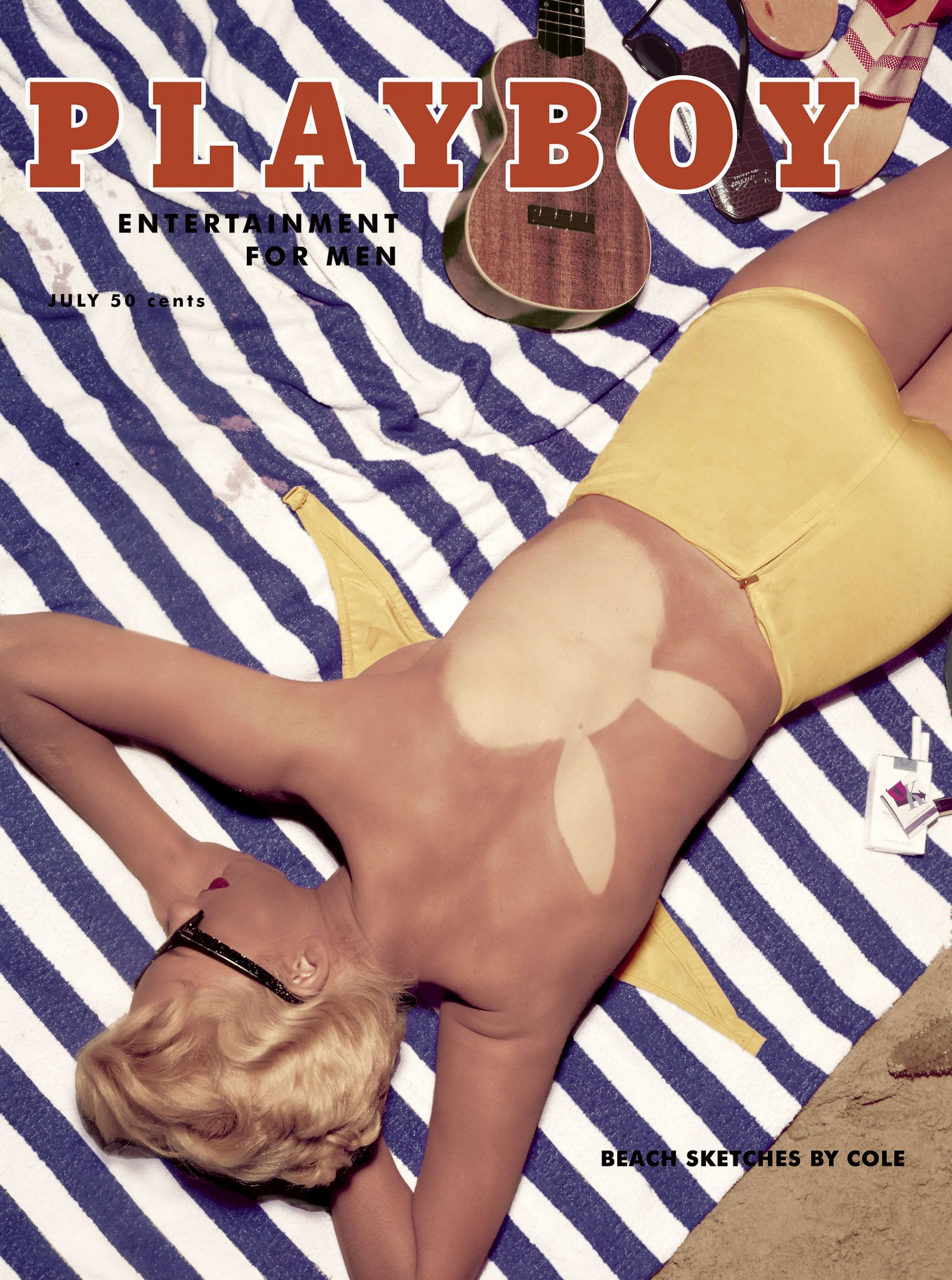 Janet Pilgrim iconic Playboy covers Loaded