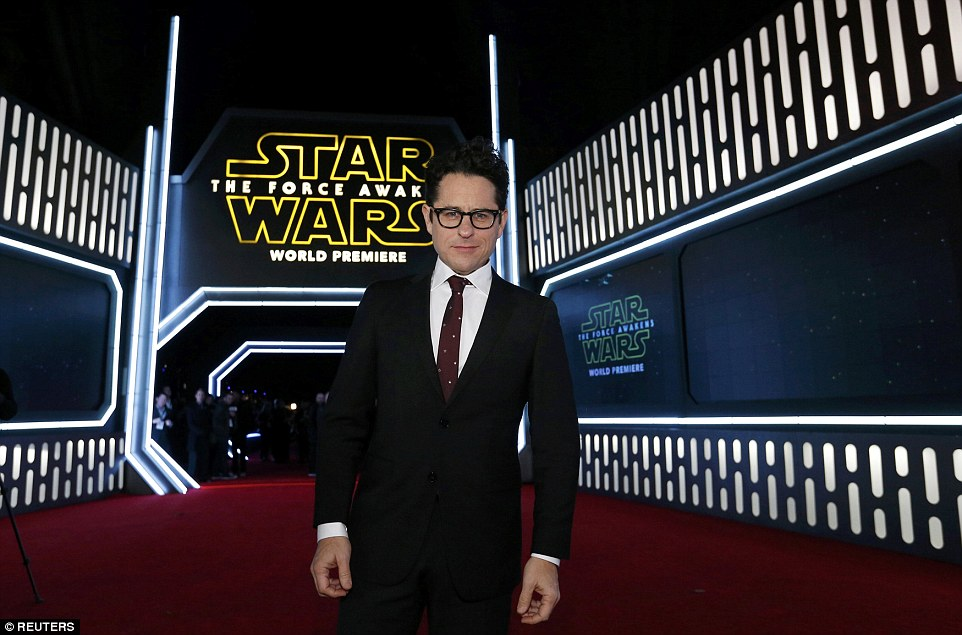 jj abrams at Star Wars