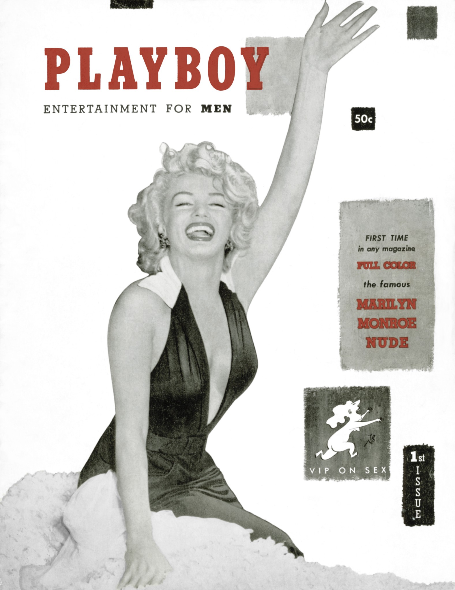 Marilyn Monroe iconic Playboy covers Loaded