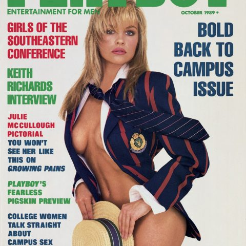 Pamela Anderson iconic Playboy covers Loaded