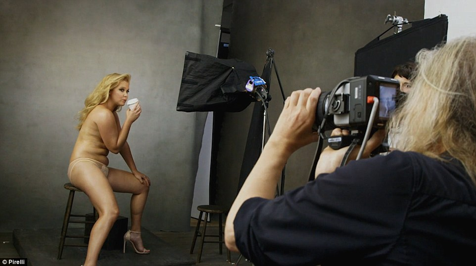 The actress poses for the new Pirelli Calendar