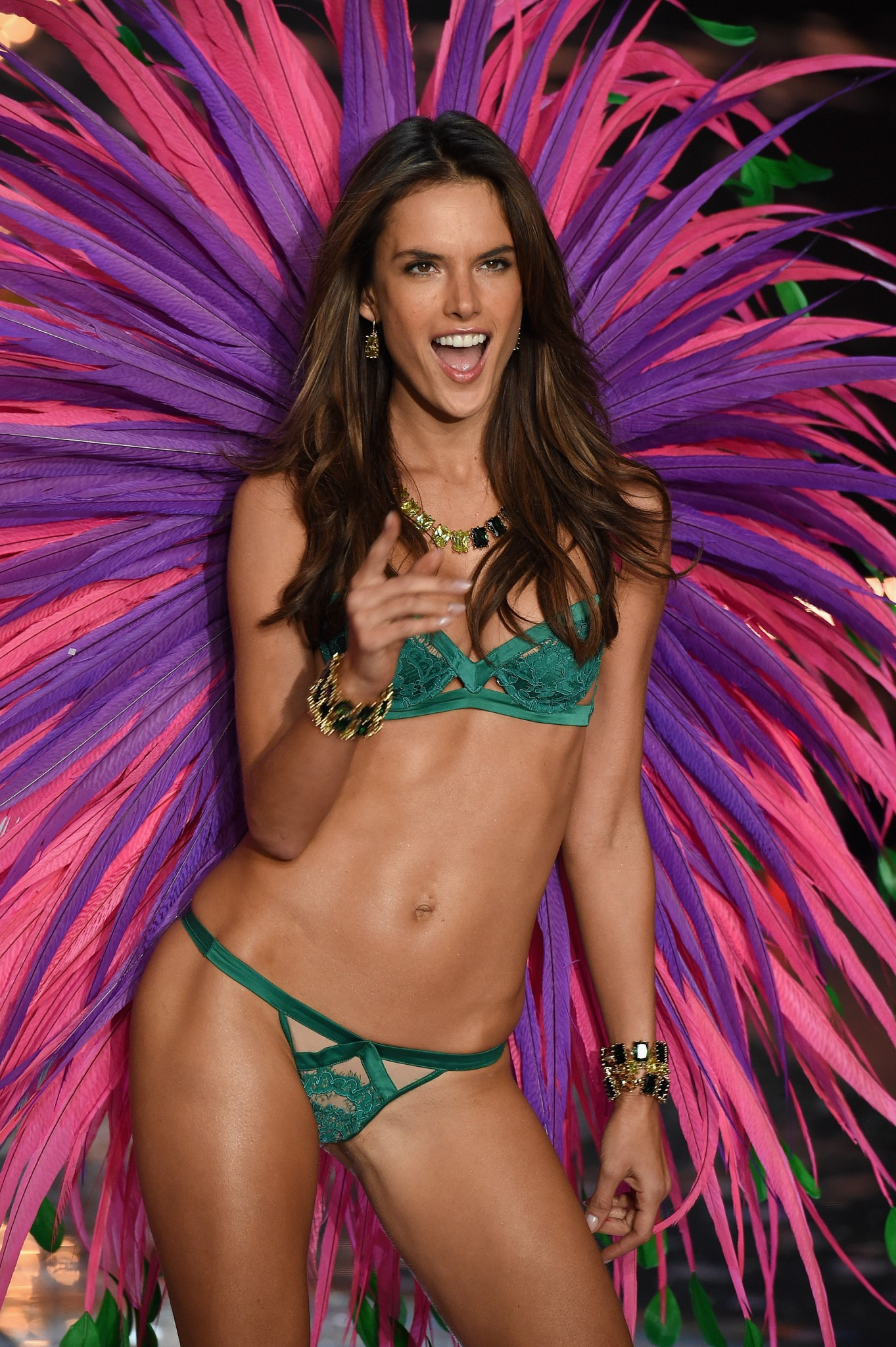 Victoria's Secret fashion show Alessandra Ambrosio Loaded
