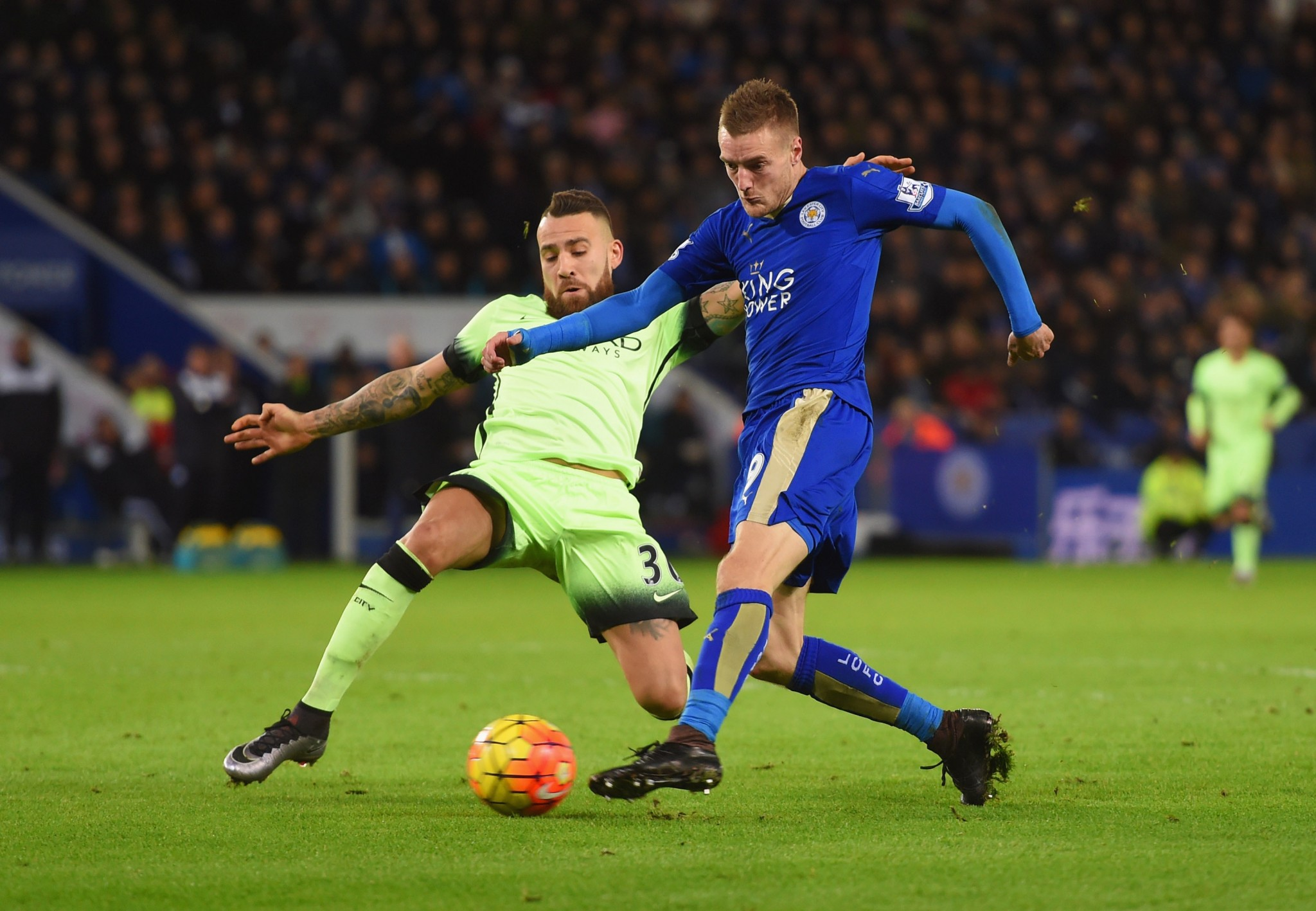 Jamie Vardy star of Leicester City rise