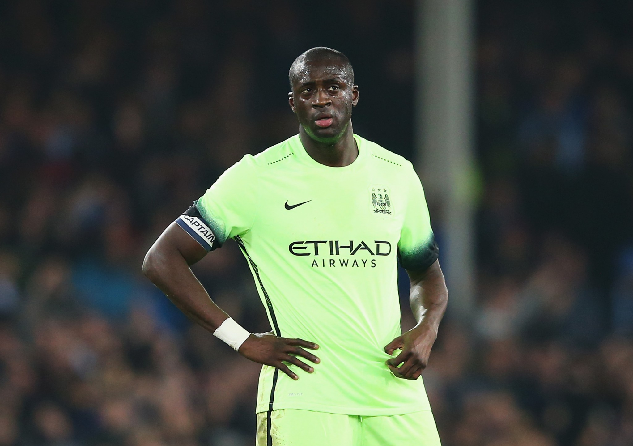 Yaya Toure poor form this season
