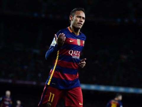 Neymar is up for the Ballon D'Or award