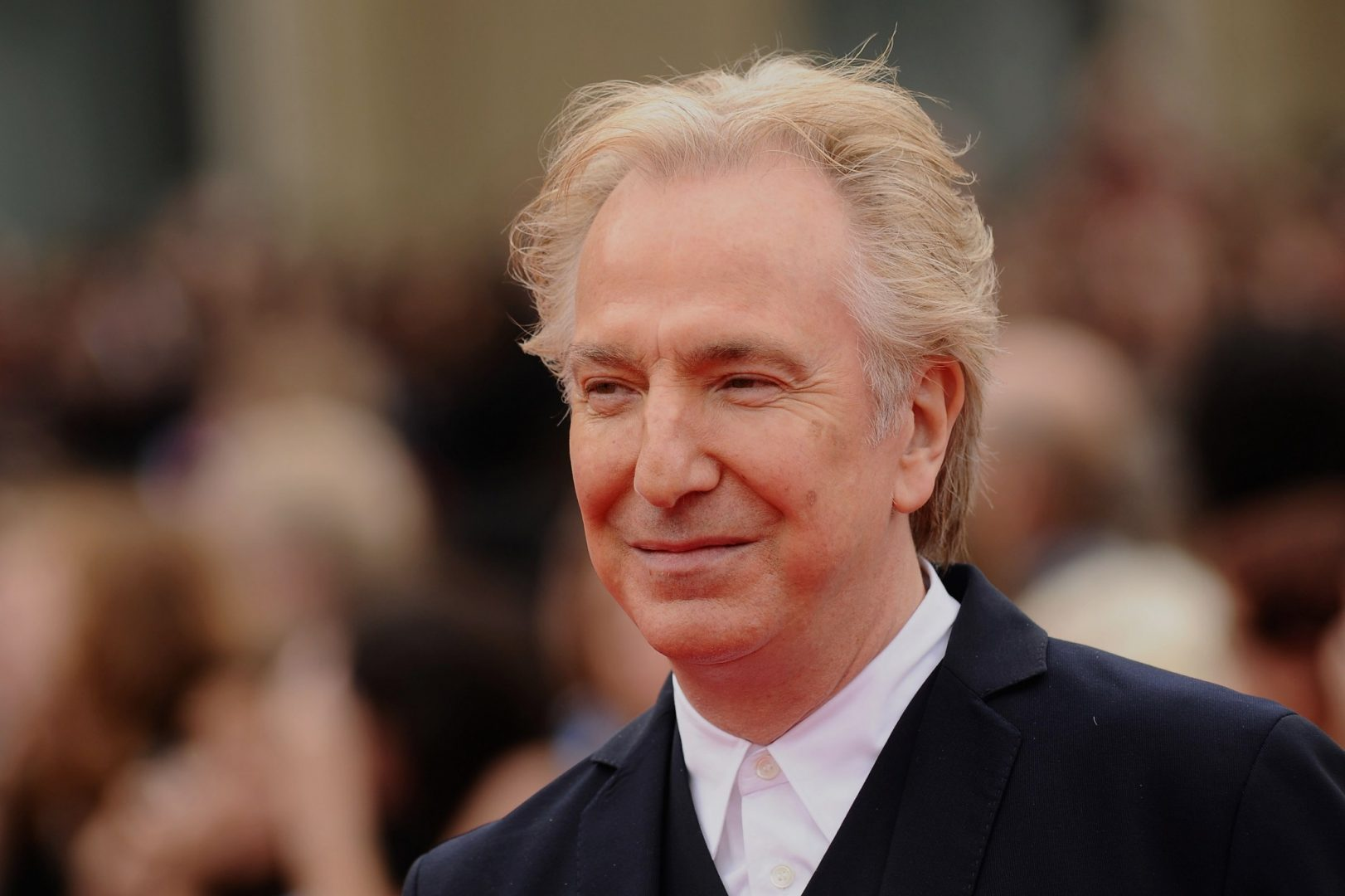 Alan Rickman at the premiere for Harry Potter And The Deathly Hallows - Part 2 in 2011