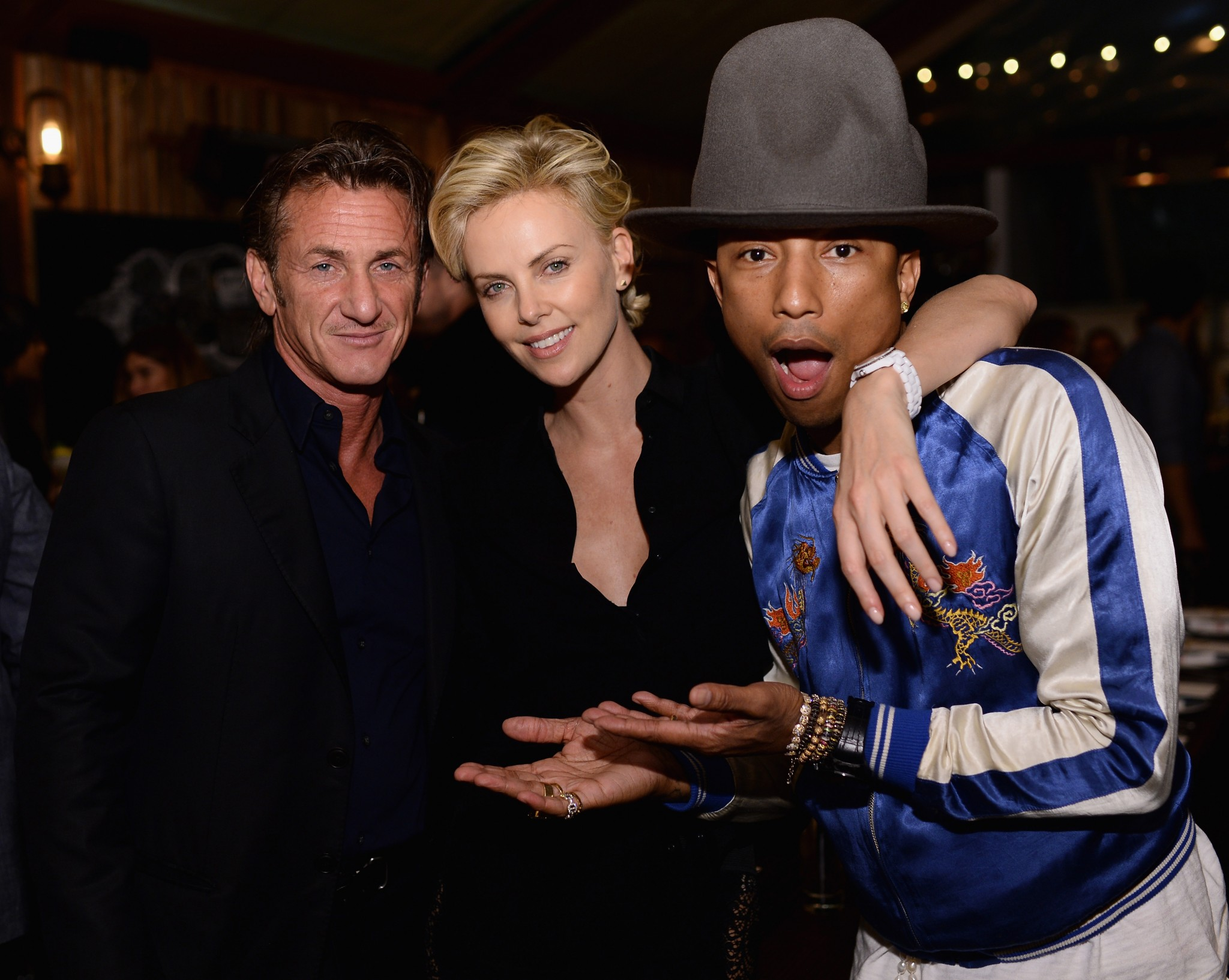 Charlize Theron Loaded with Sean Penn