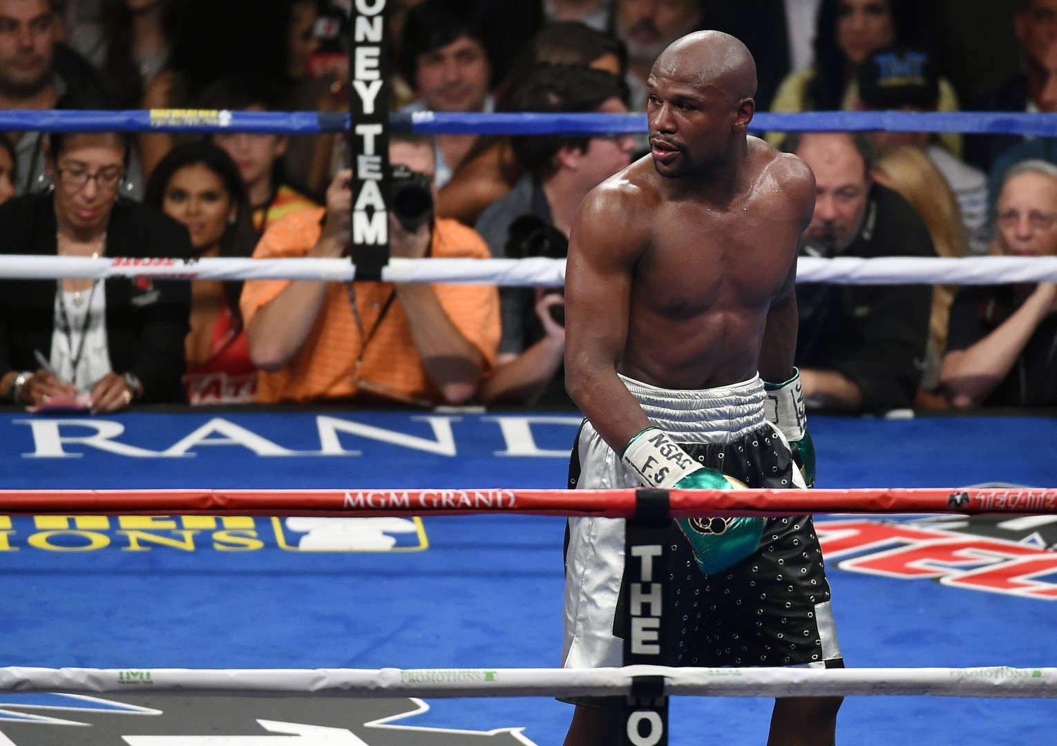 Floyd Mayweather states trash talk is loaded with racism