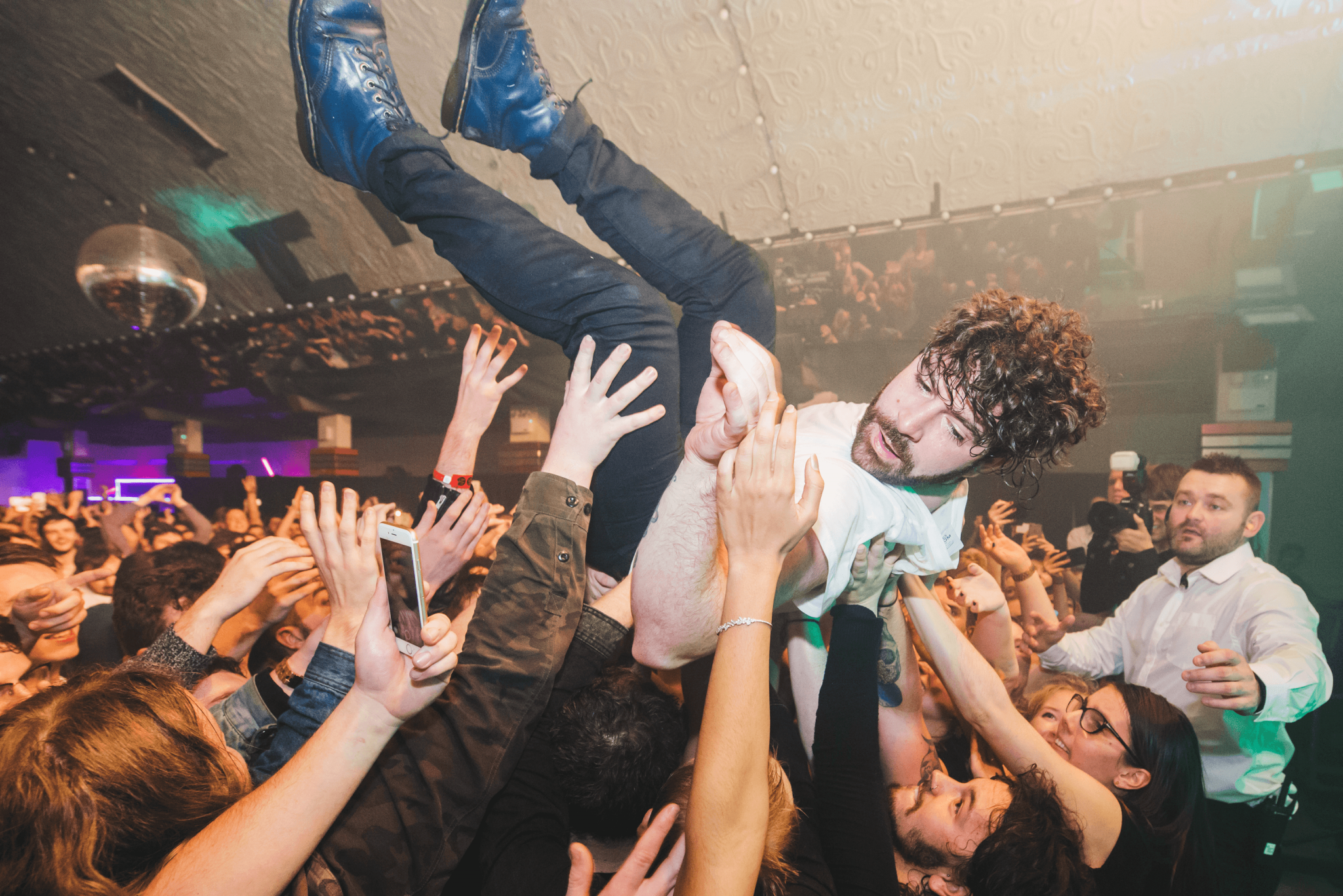 What Went Down band Foals in concert