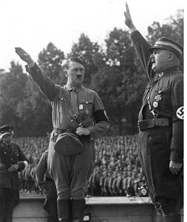 Nazi leader Adolf Hitler cut off food to Leningrad in World War II
