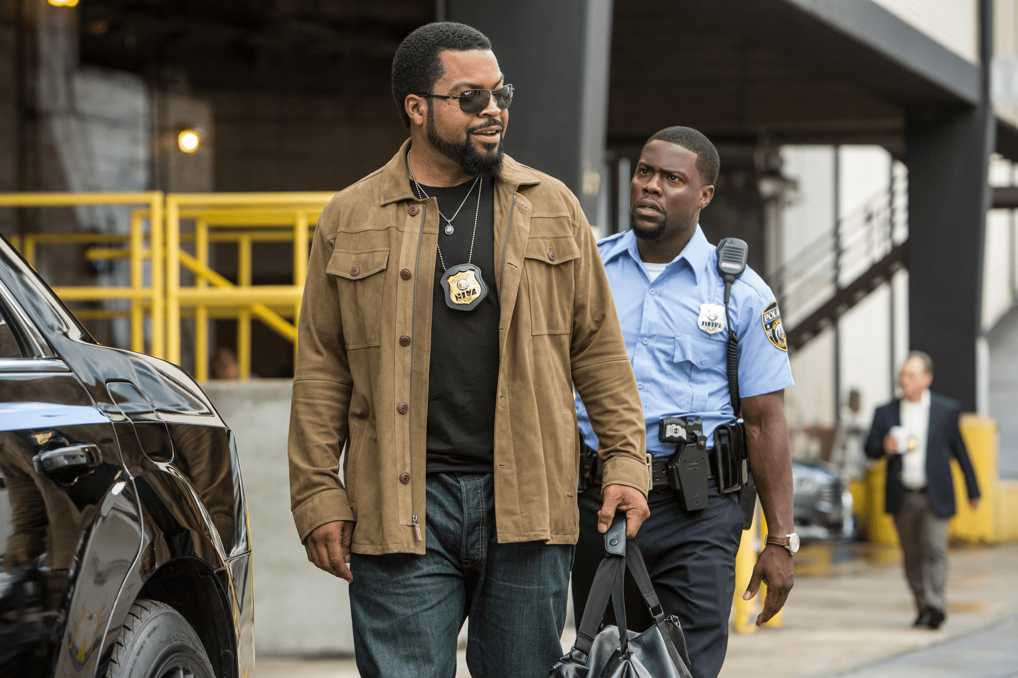 Ride Along 2 stars Ice Cube and Kevin Hart