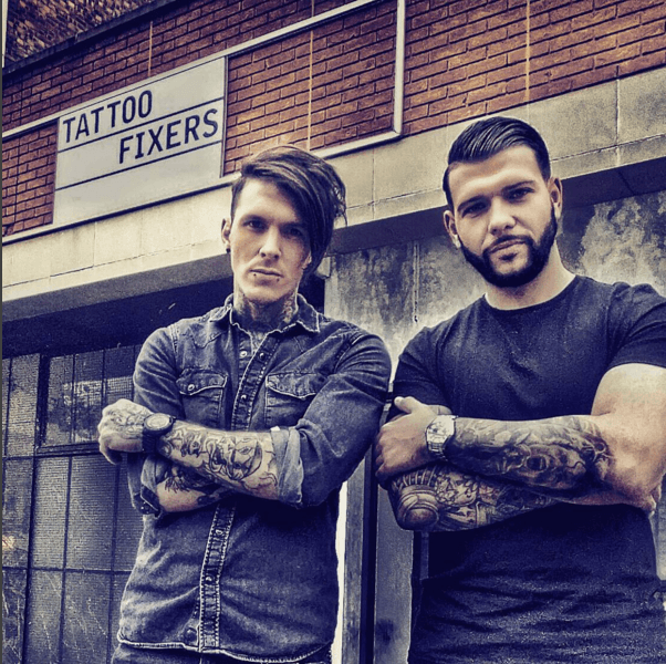 Sketch and Jay from Channel 4's Tattoo Fixers – Loaded