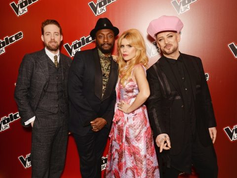 The coaching panel of The Voice