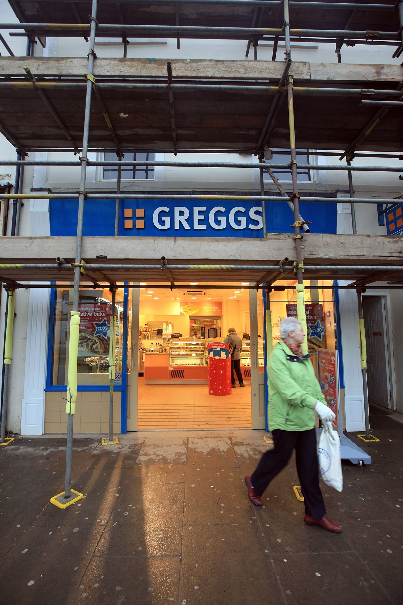 A branch of Greggs.