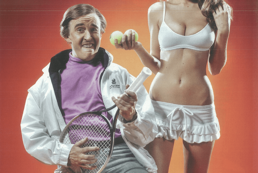 Alan Partridge Loaded Classic Interview Tennis
