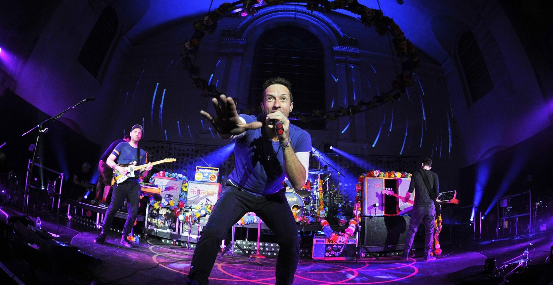 Radio 1's Big Weekend headliners Coldplay