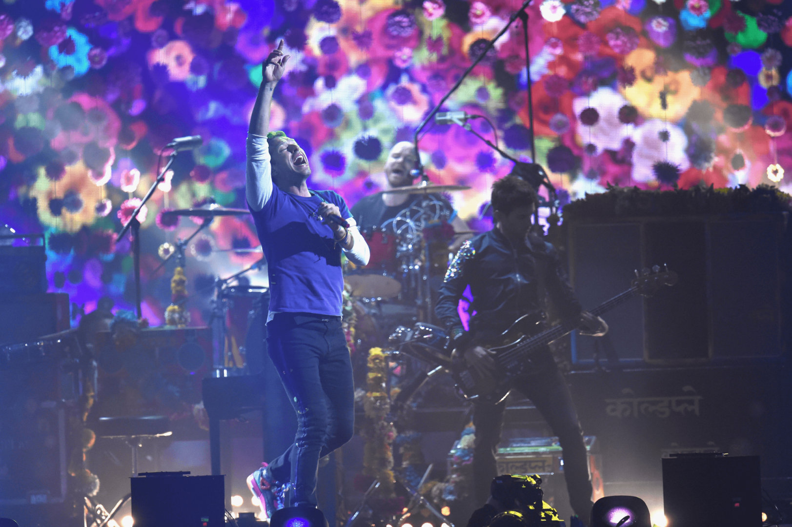 Coldplay perform at the BRITs