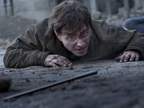 Daniel Radcliffe in Harry Potter And The Deathly Hallows Part 2