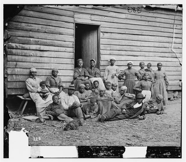 Slave Jourdon Anderson and family
