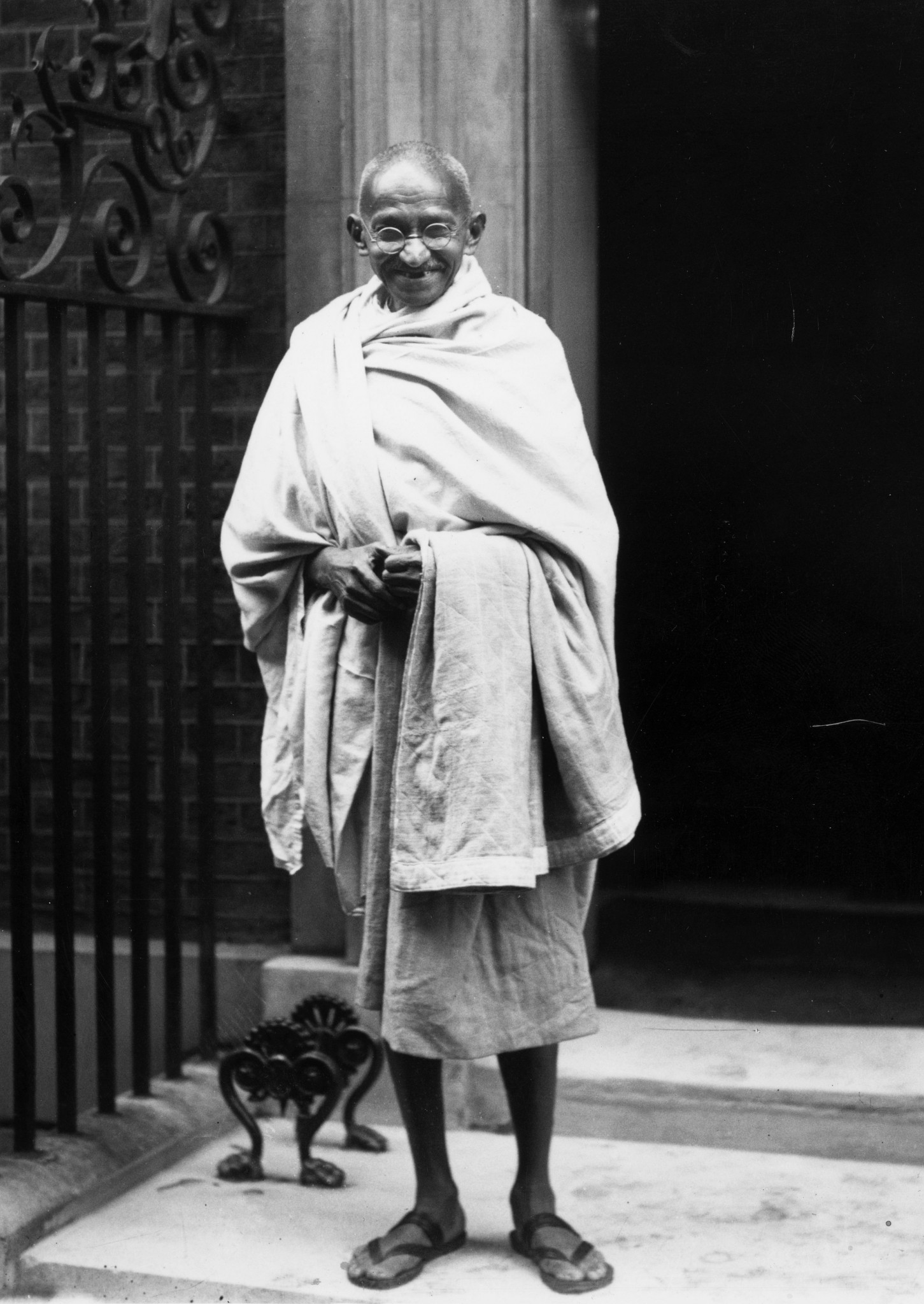 Mahatma Gandhi at 10 Downing Street