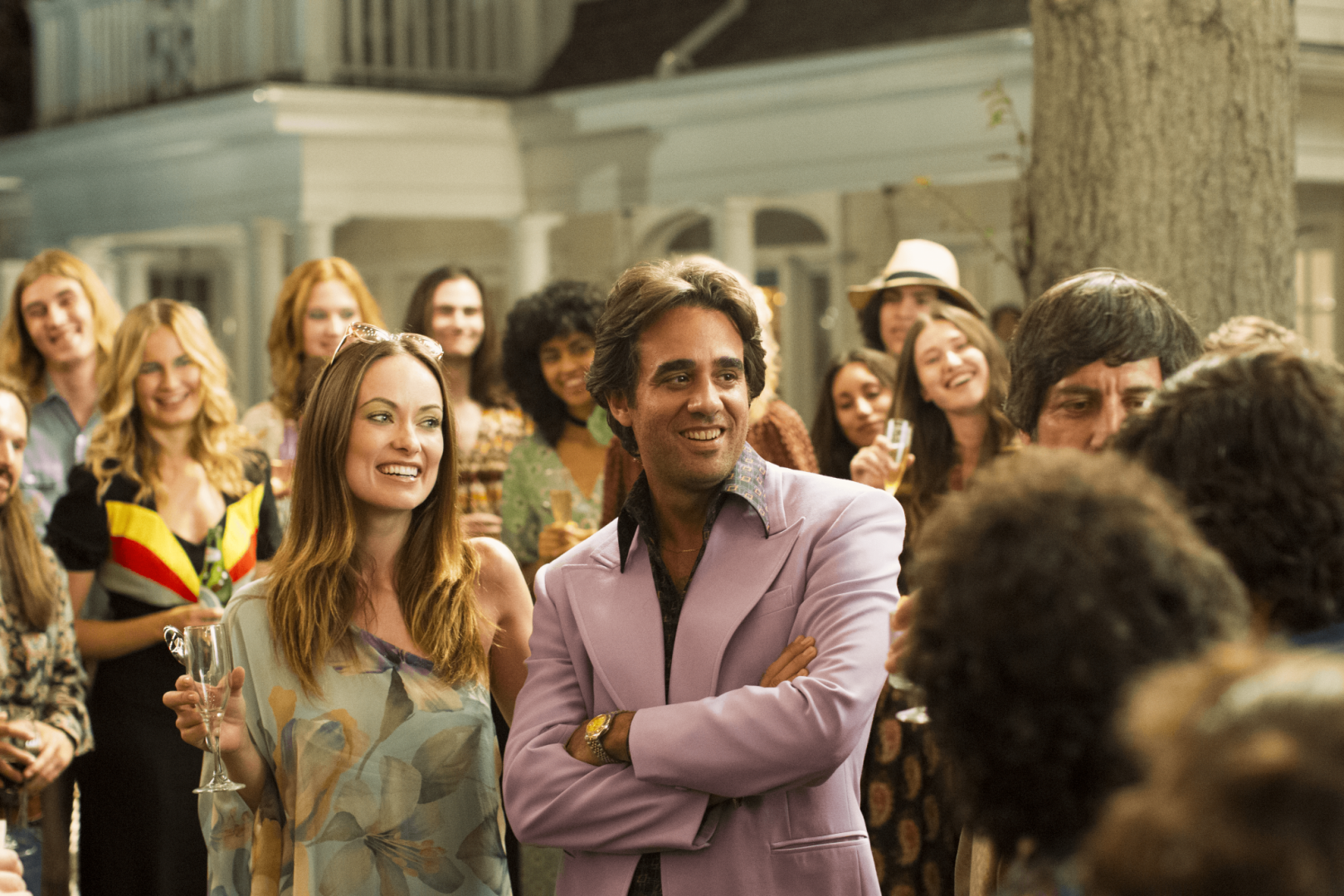 Bobby Cannavale and Olivia Wilde in Viny