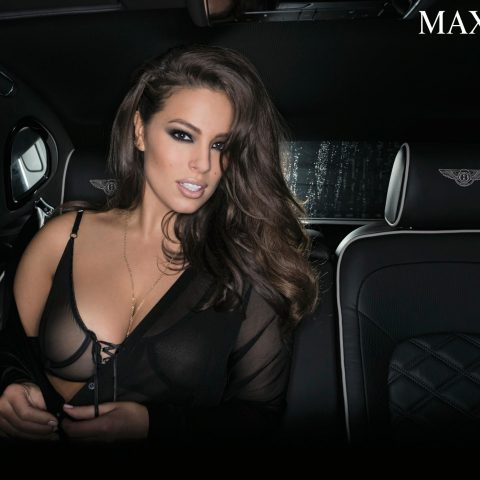 Ashley Graham in her latest Maxim photoshoot