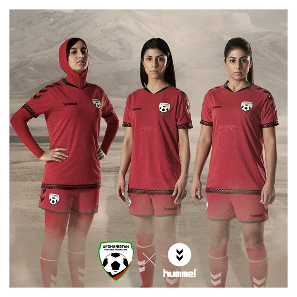 Hummel has unveiled its new Afghanistan women's kits.