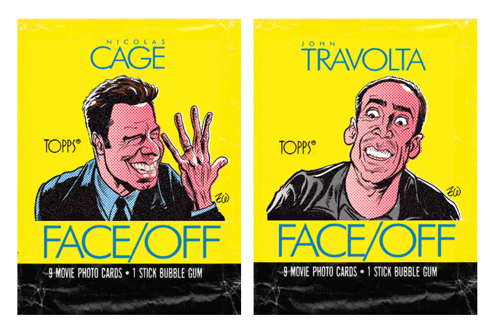 The Topps Faceoff card