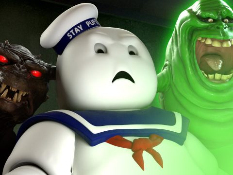 Ghostbusters trailer reaction Mr Stay Puft