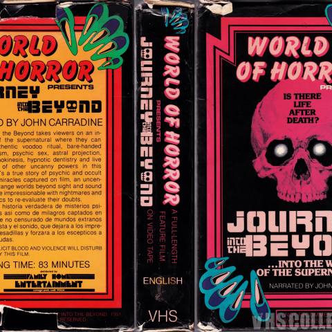 Journey Into The Beyond VHS cover