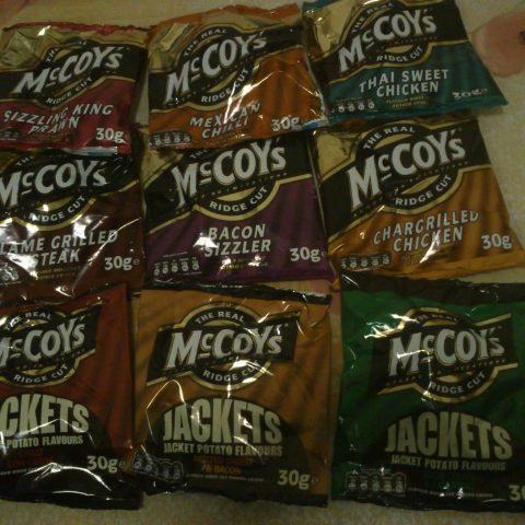 McCoys crisps were the first world cup winners