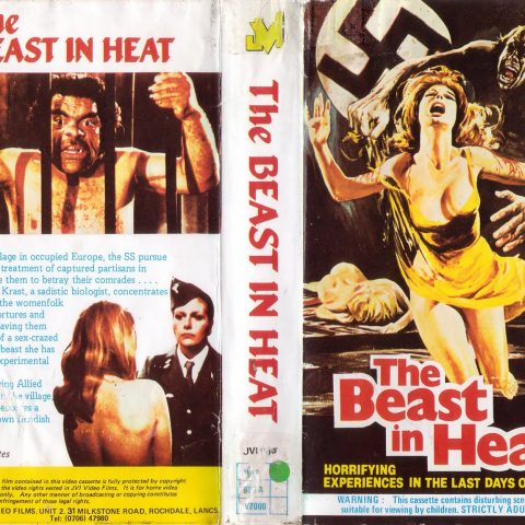 The Beast In Heat VHS cover