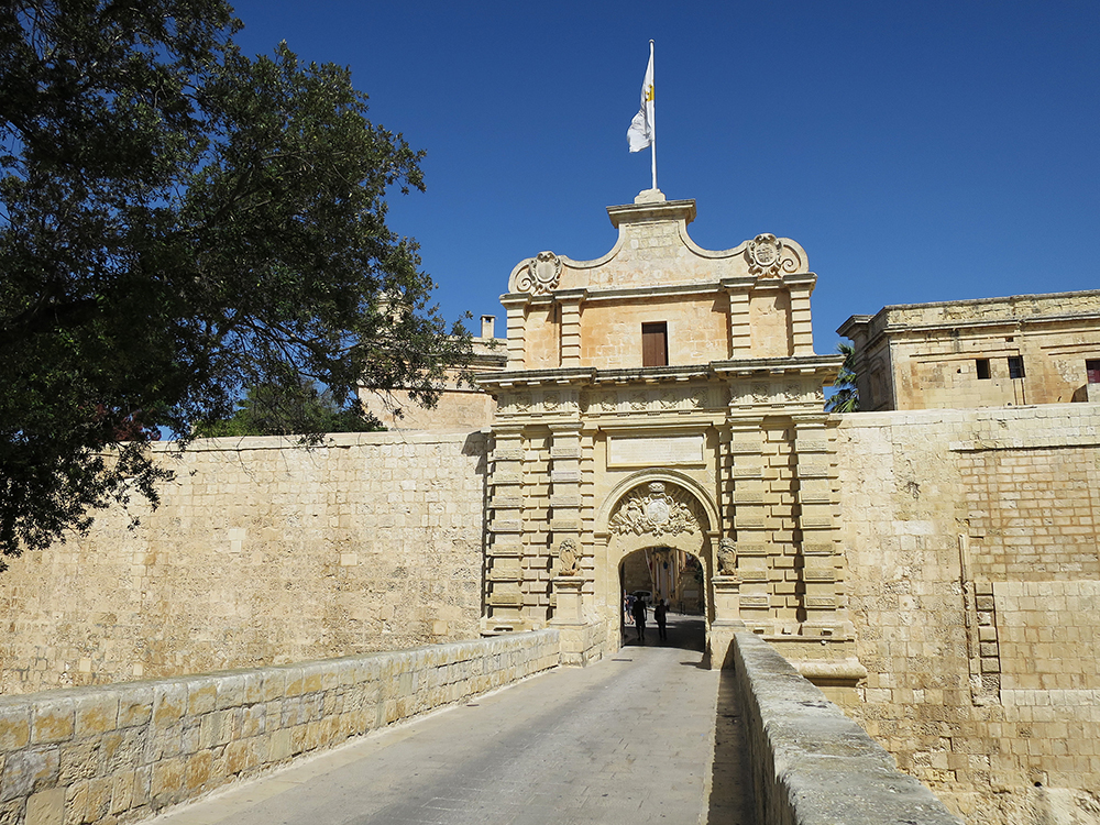 Game Of Thrones location Mdina City Gate