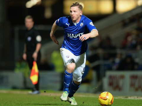 Chesterfield striker Ritchie Humphreys chairman of the PFA