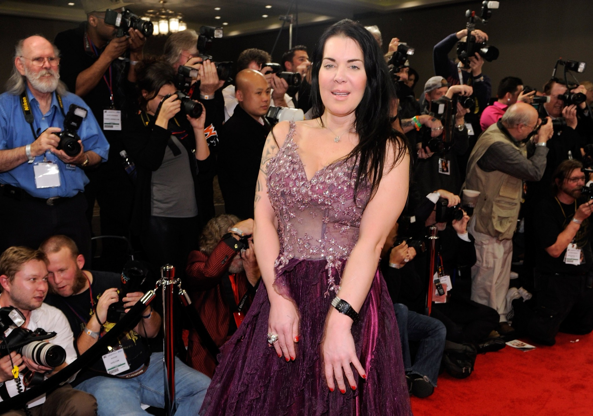 Joanie Laurer also known as Chyna.