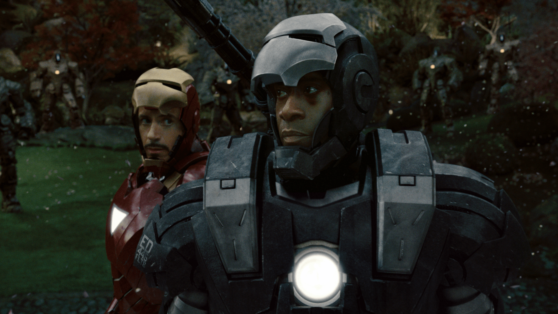 Don Cheadle in Iron Man 2