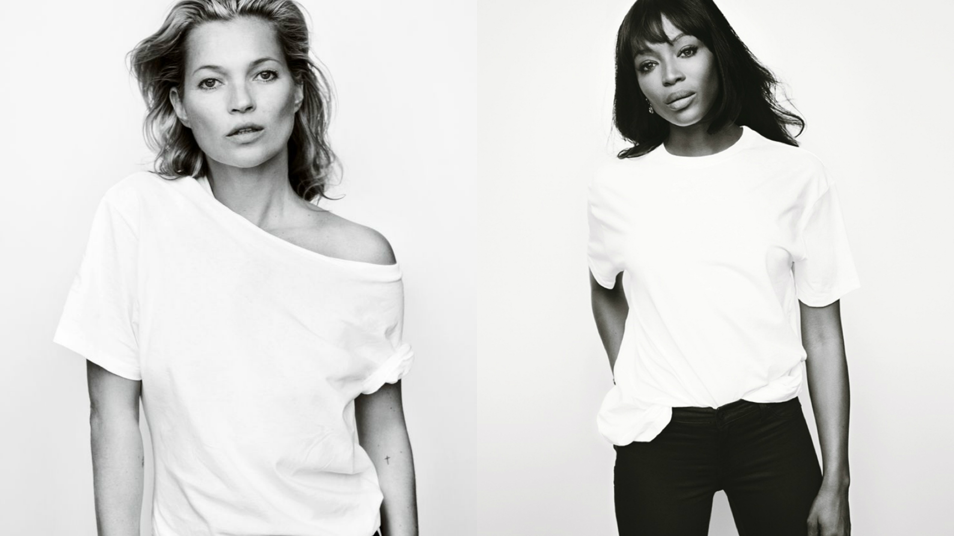 Kate Moss Naomi Campbell Fashion Targets Breast Cancer