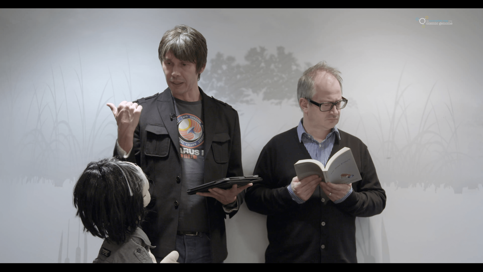 Brian Cox and Robin Ince in The Quest For Wonder