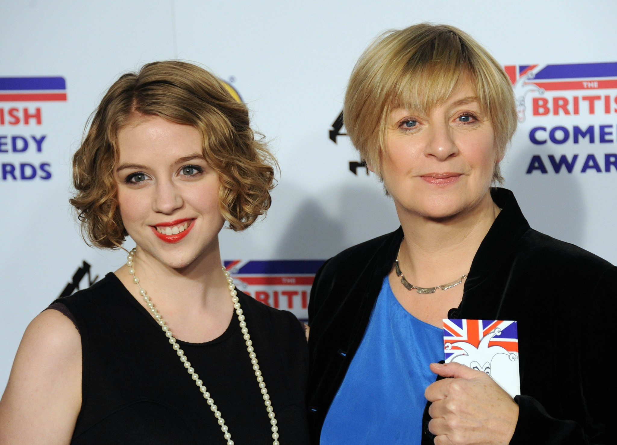 Victoria Wood with daughter Grace