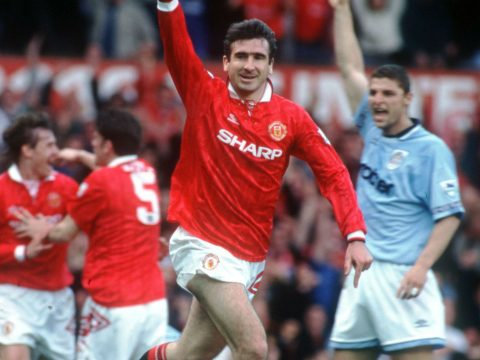 Eric Cantona Manchester United v Manchester City
