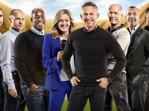 BBC Match Of The Day presenting team
