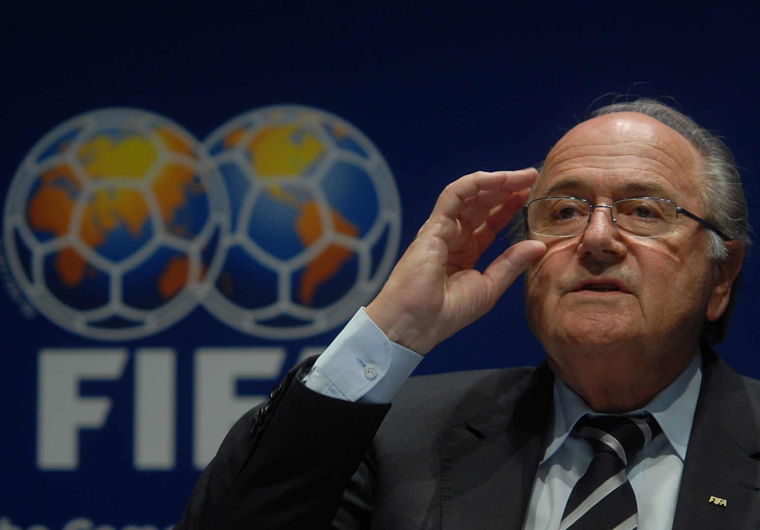 Sepp Blatter Loaded
