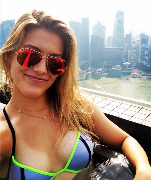 Eugenie Bouchard loaded