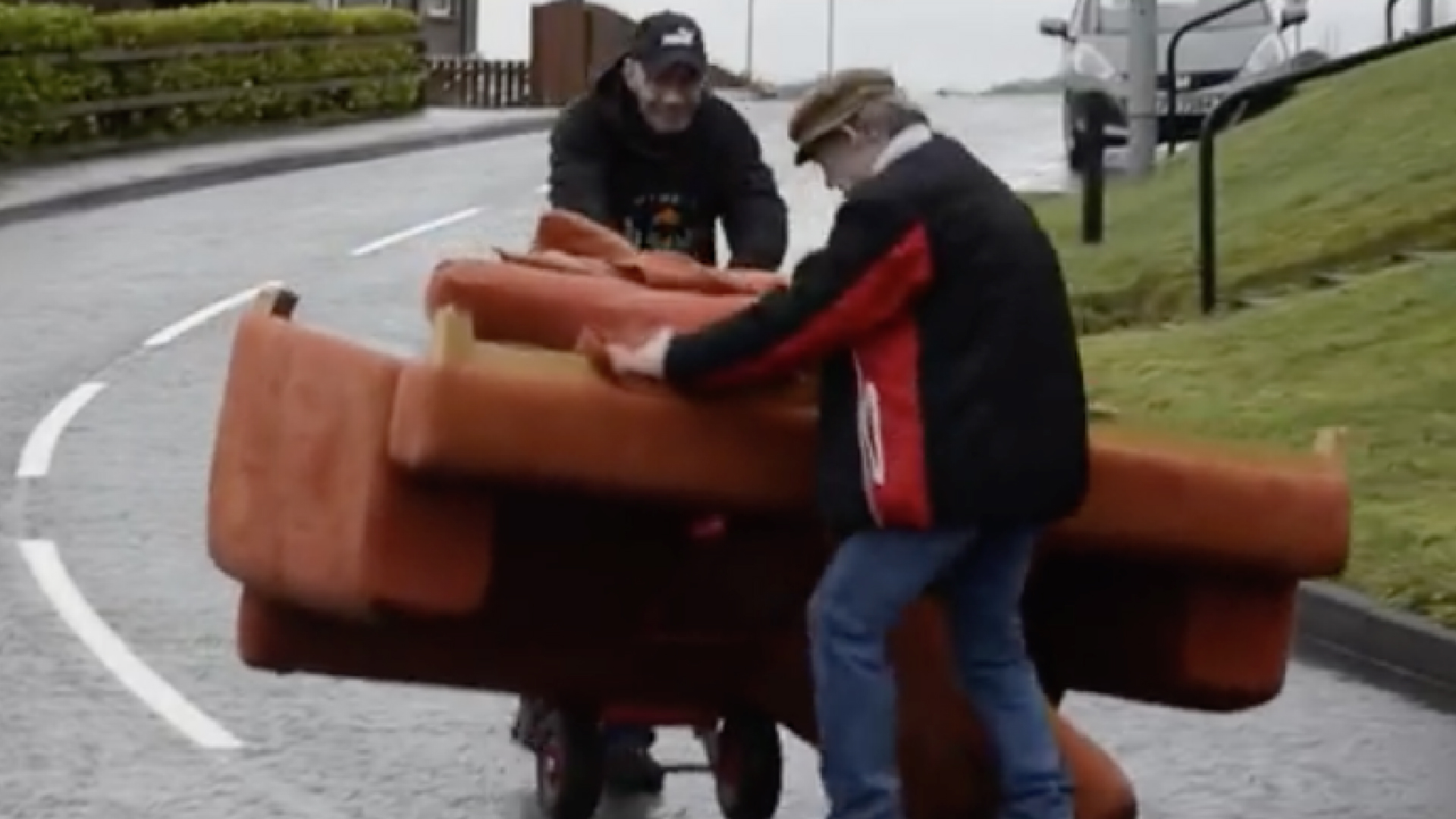 Couch moving