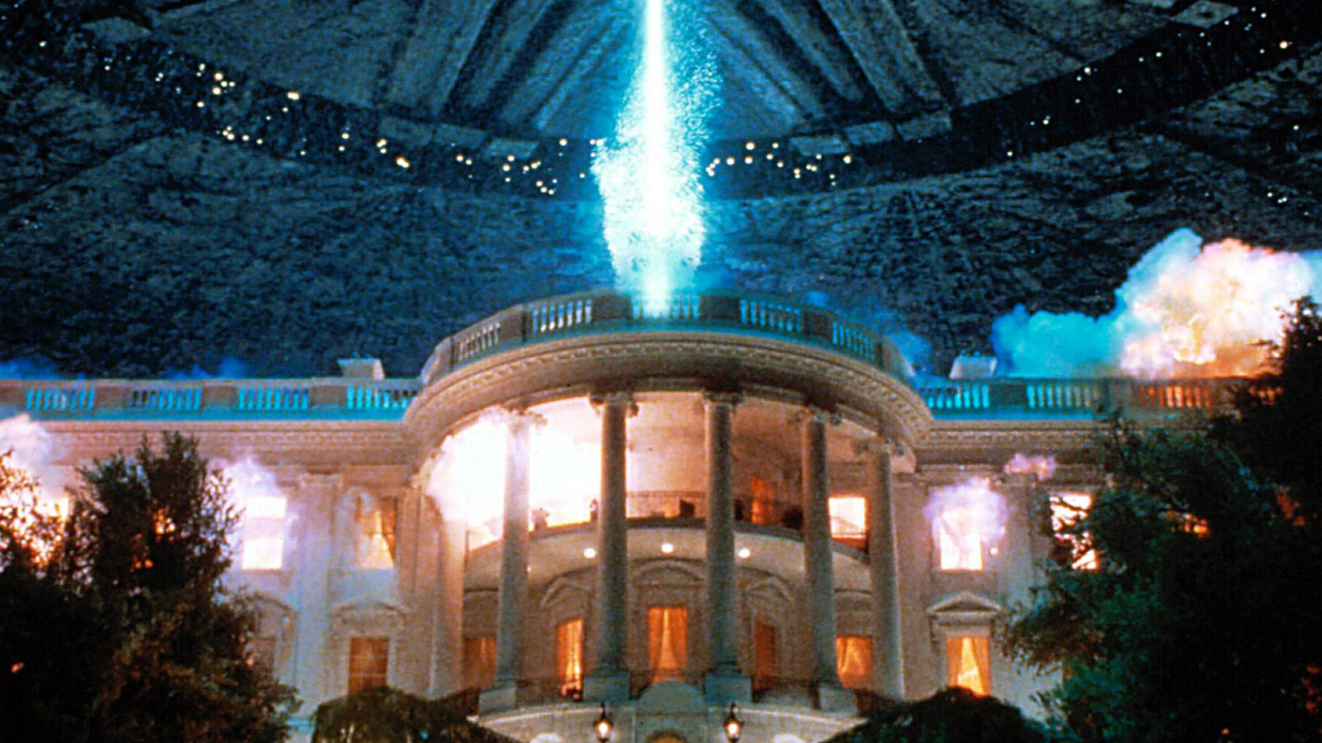 Independence Day White House scene
