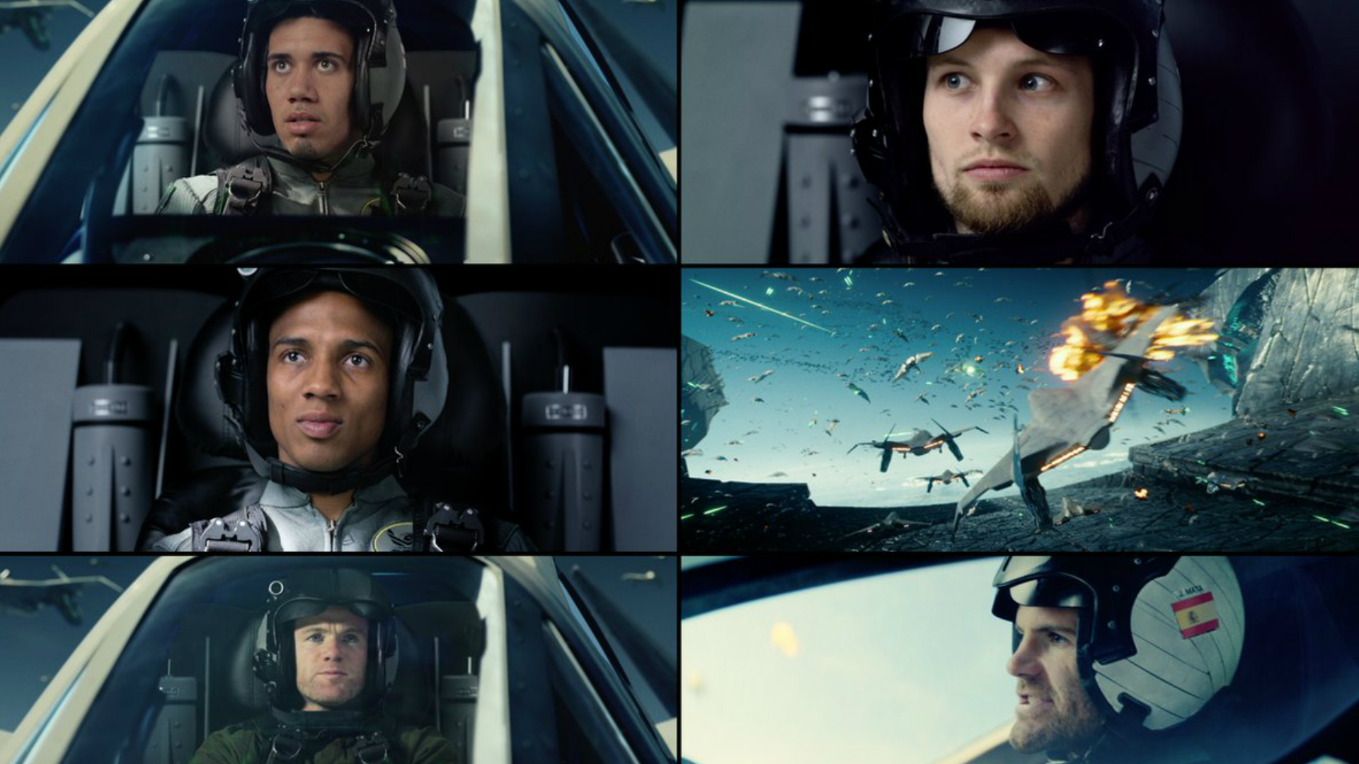 Manchester United stars in Independence Day: Resurgence