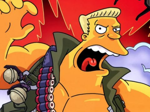 McBain in The Simpsons