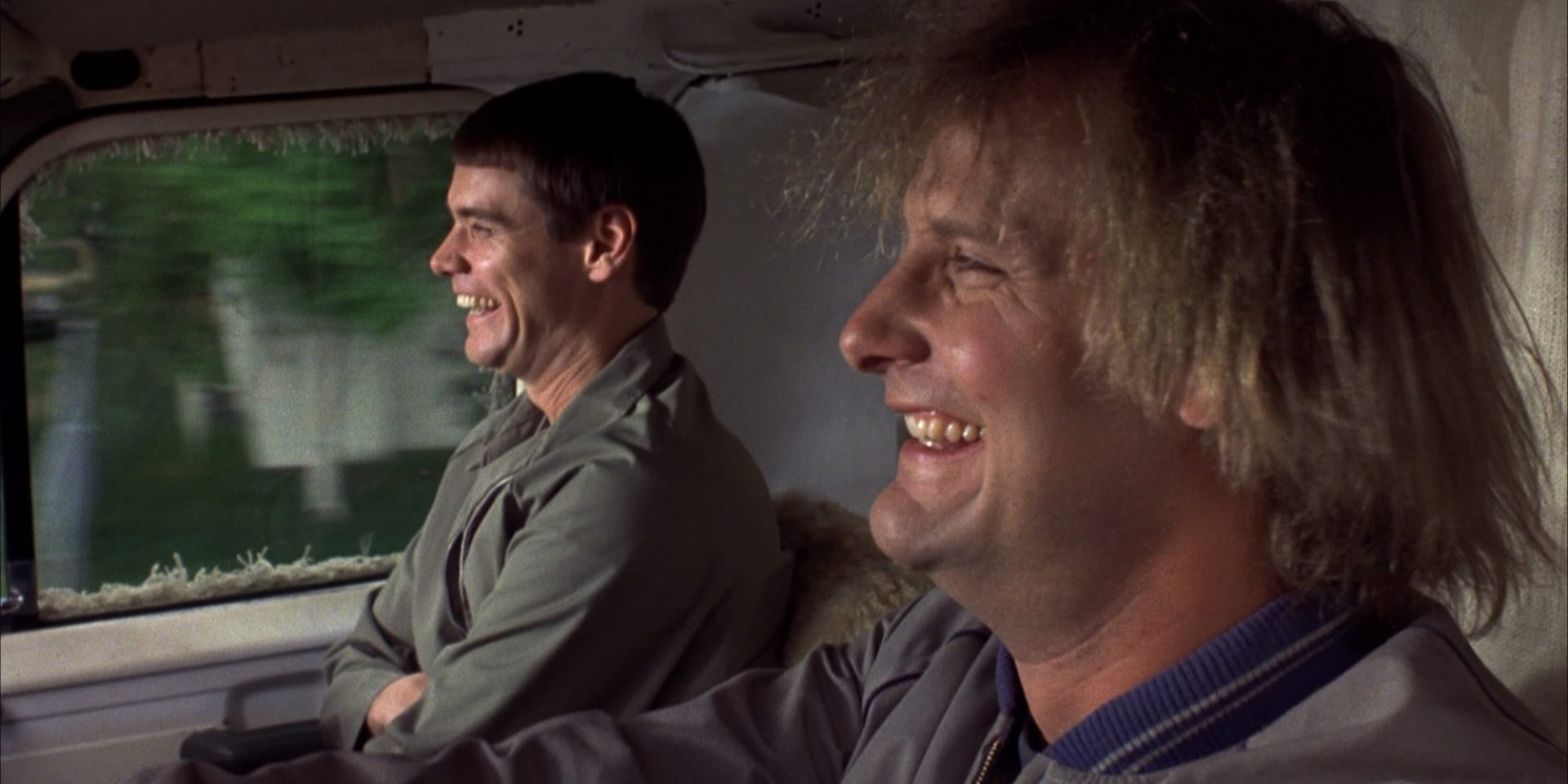A scene from the movie Dumb and Dumber.